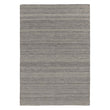 Patan Rug grey melange, 80% wool & 20% organic cotton | URBANARA wool rugs