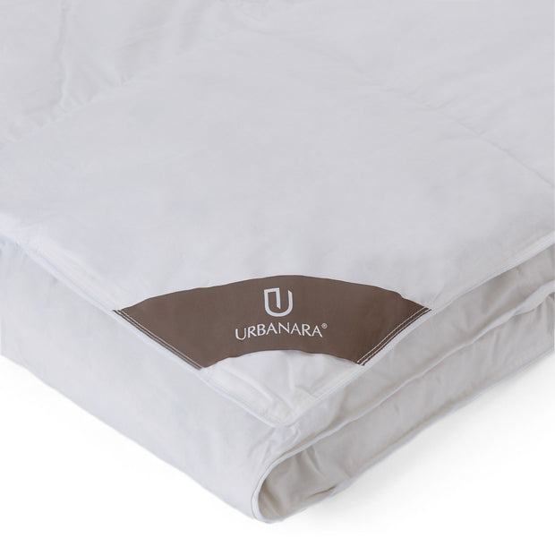Tundra duvet, white, 100% goose down | URBANARA all season duvets