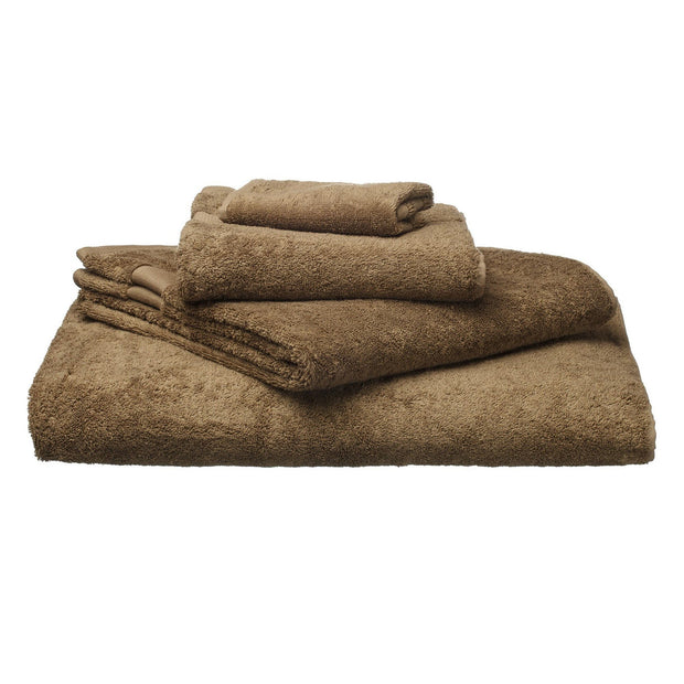 Penela hand towel, brown, 100% egyptian cotton