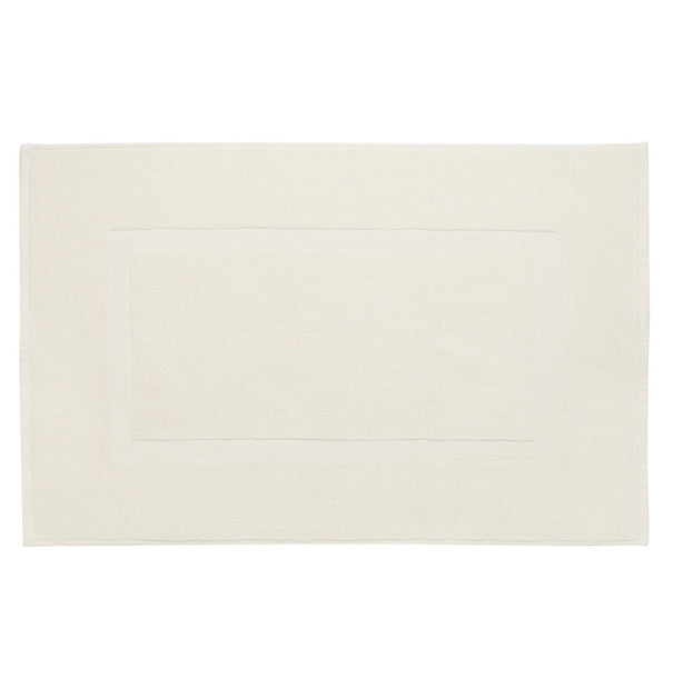 Penela bath mat, off-white, 100% egyptian cotton