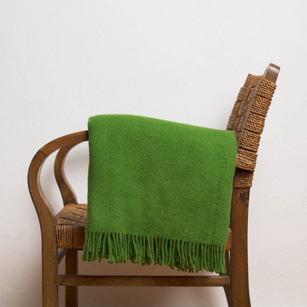 Miramar Wool Blanket [Green]