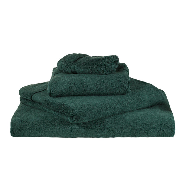 Salema hand towel, dark green, 100% supima cotton