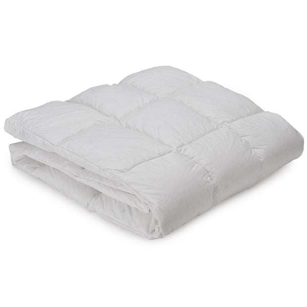 Zala Duvet white, 100% cotton | URBANARA summer duvets