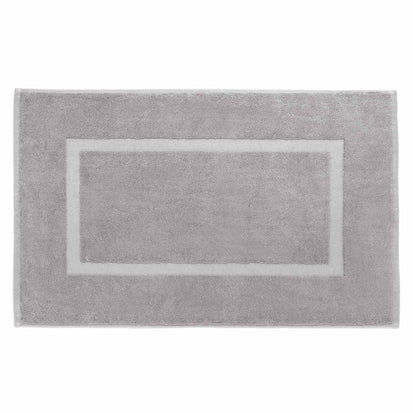 Penela Bath Mat stone grey, 100% egyptian cotton