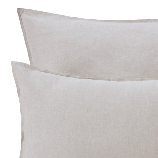 Bellvis Pillowcase natural, 100% linen | URBANARA linen bedding