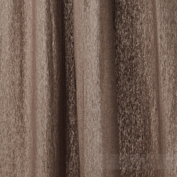 Vinstra curtain, brown & beige, 100% linen |High quality homewares