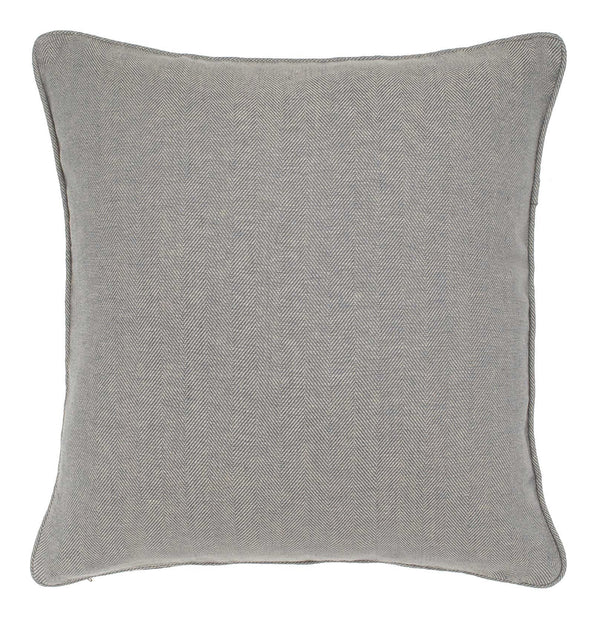 Vinstra cushion cover, blue & beige, 100% linen
