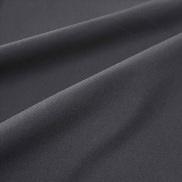 Perpignan fitted sheet, grey, 100% combed cotton | URBANARA fitted sheets