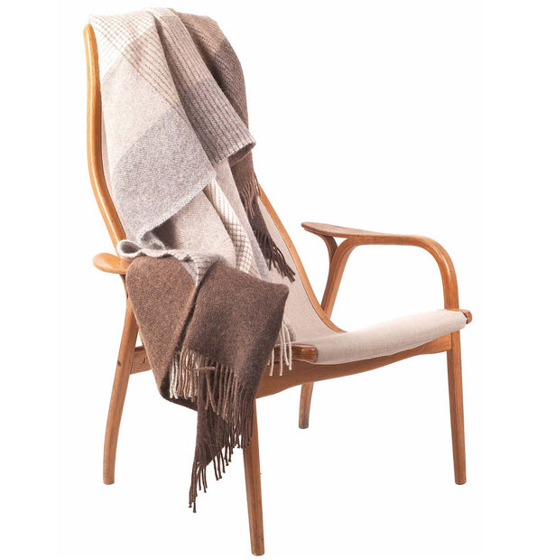 Salos Alpaca Blanket in brown | Home & Living inspiration | URBANARA