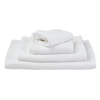 Neris hand towel, white, 100% linen