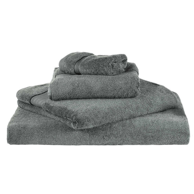 Salema hand towel, grey, 100% supima cotton