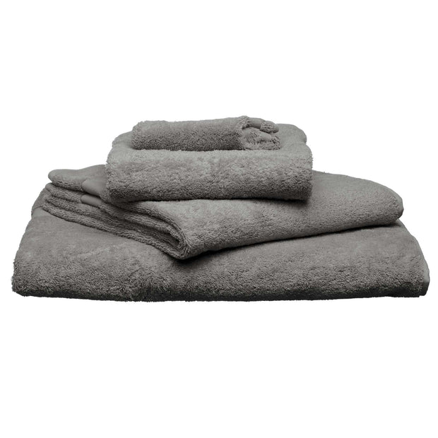 Penela hand towel, platinum grey, 100% egyptian cotton