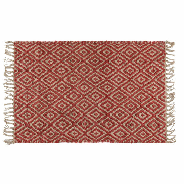 Dasheri doormat, red, 100% jute