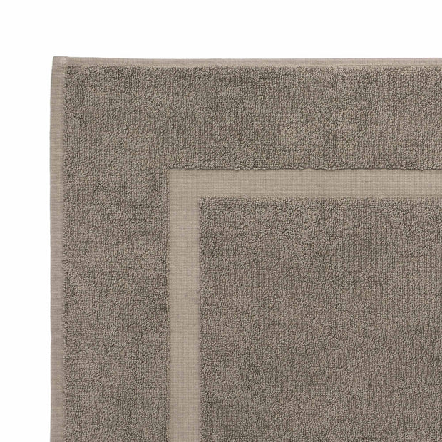 Penela bath mat, grey green, 100% egyptian cotton |High quality homewares
