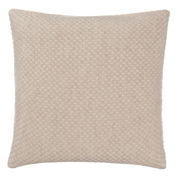 Alashan blanket, beige & cream, 100% cashmere wool |High quality homewares