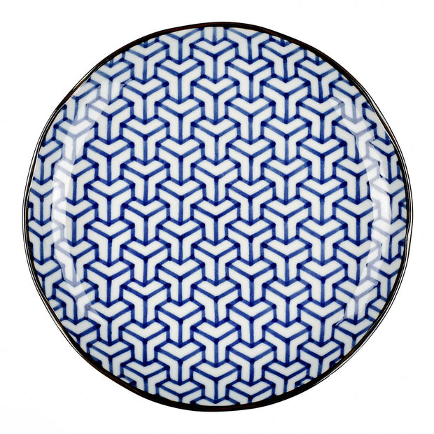 Onuma Plate [White/Blue]