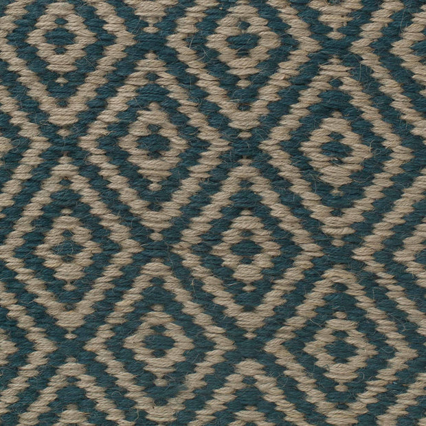 Dasheri rug, teal, 100% jute |High quality homewares