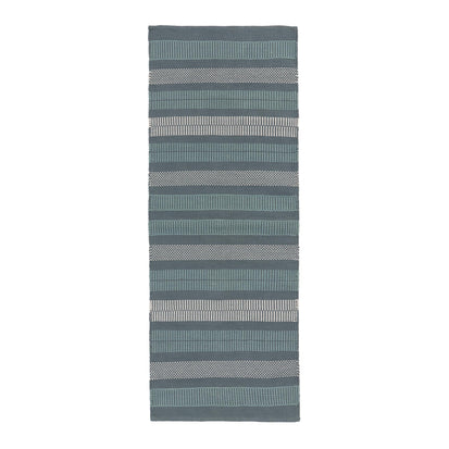Vandani Runner in green grey & light green grey & off-white | Home & Living inspiration | URBANARA