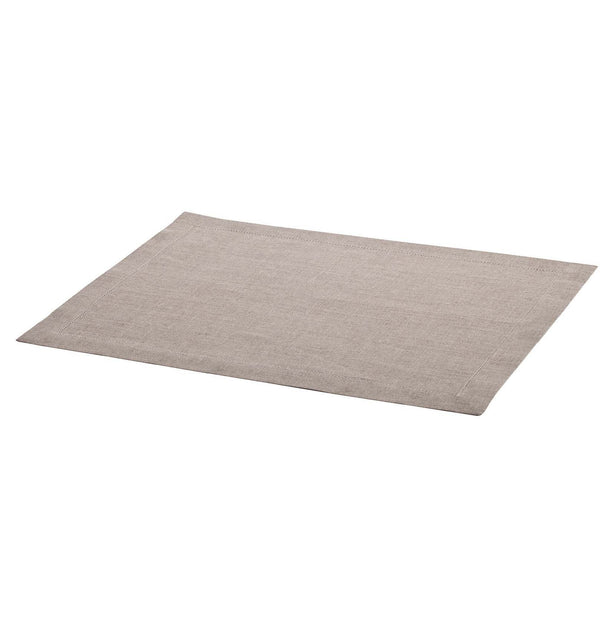 Cavaillon table runner, natural, 100% linen |High quality homewares