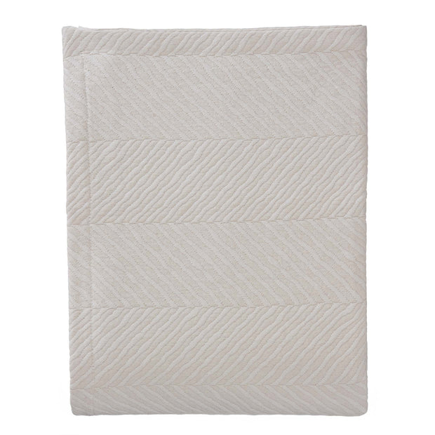 Cieza quilt, beige, 100% cotton