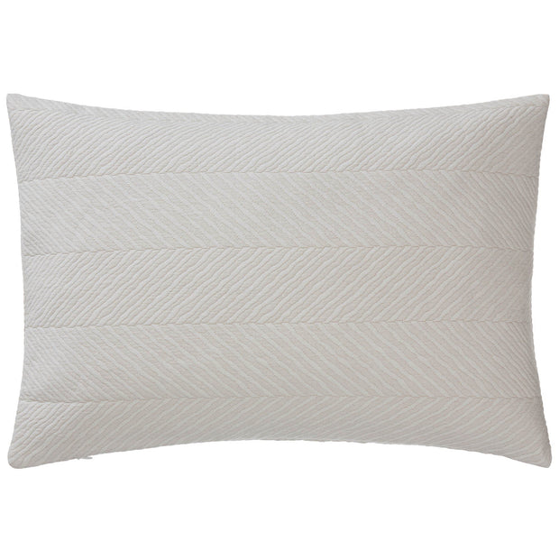 Cieza cushion cover, beige, 100% cotton