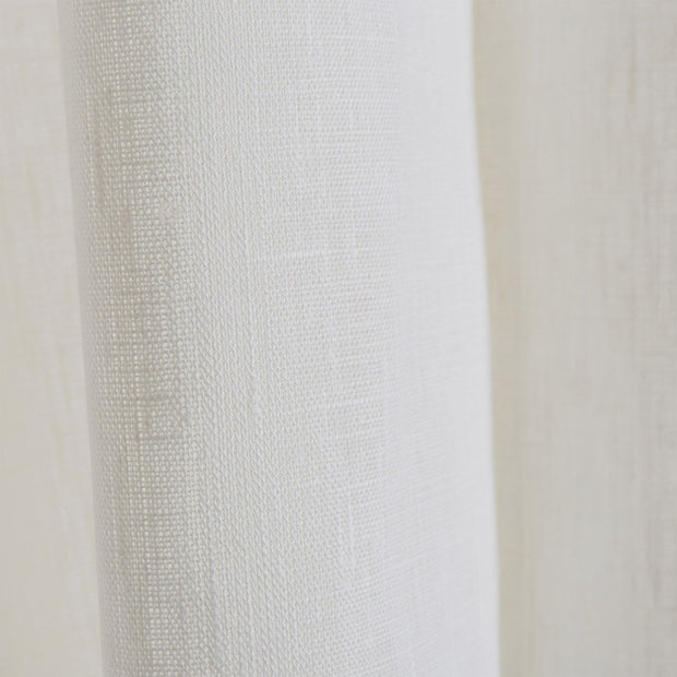 Fana curtain, natural white, 100% linen | URBANARA curtains