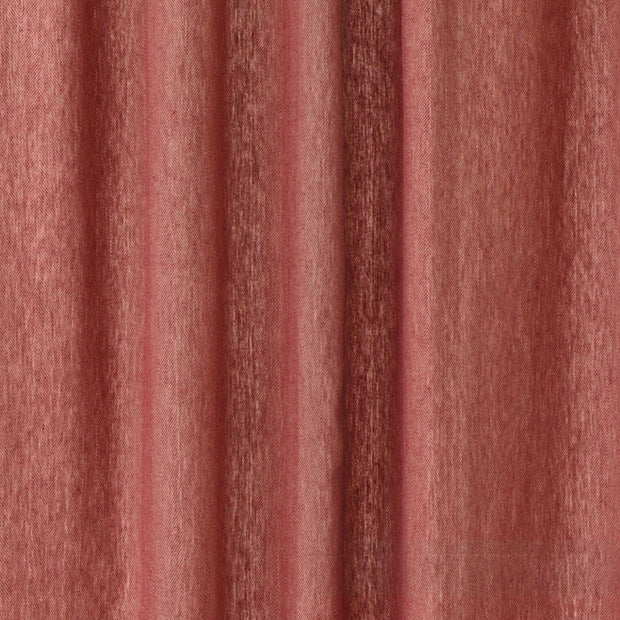 Vinstra curtain, red & beige, 100% linen | URBANARA curtains