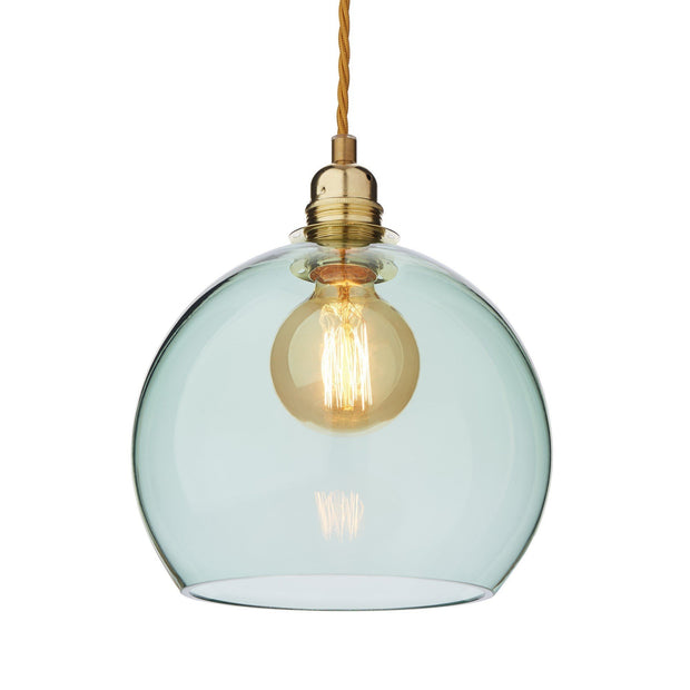 Light green & Brass Ribe Hängelampe | Home & Living inspiration | URBANARA