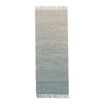 Ziller Runner in green grey & natural white | Home & Living inspiration | URBANARA