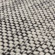 Kolong rug in off-white & black, 100% new wool |Find the perfect wool rugs