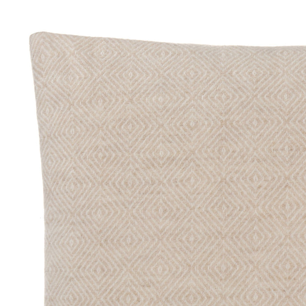 Uyuni cushion cover, beige & cream, 100% cashmere wool | URBANARA cushion covers
