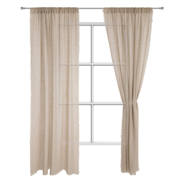 Kiruna curtain, natural, 100% linen