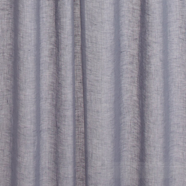 Kiruna curtain, blue grey, 100% linen |High quality homewares