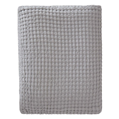 Veiros Cotton Quilt light grey, 100% cotton