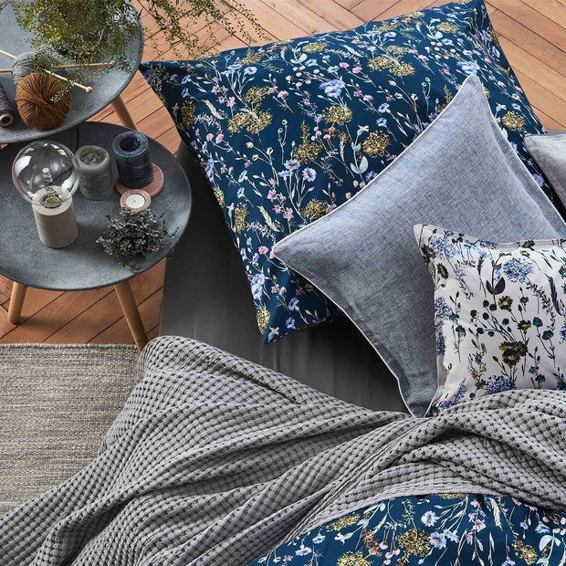 Veiros Cotton Quilt in light grey | Home & Living inspiration | URBANARA