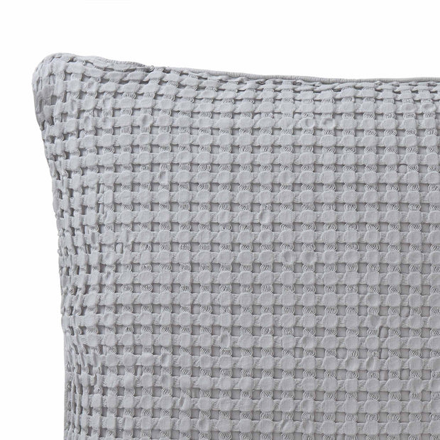 Veiros cushion cover, light grey, 100% cotton | URBANARA cushion covers