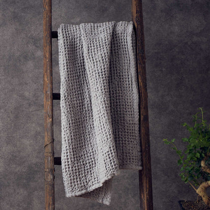 Mikawa Towel Collection in light grey | Home & Living inspiration | URBANARA