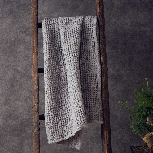 Mikawa hand towel, light grey, 100% cotton |High quality homewares