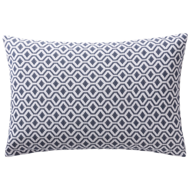 Viana bedspread in blue grey & white, 100% cotton |Find the perfect bedspreads & quilts
