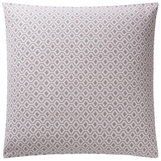 Viana cushion cover, natural & white, 100% cotton