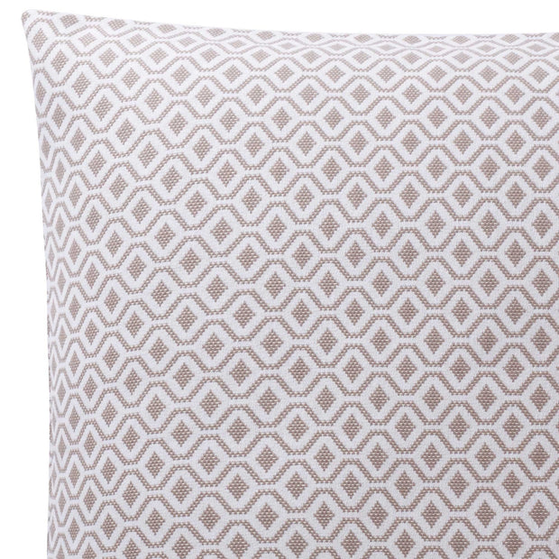 Viana cushion cover, natural & white, 100% cotton | URBANARA cushion covers