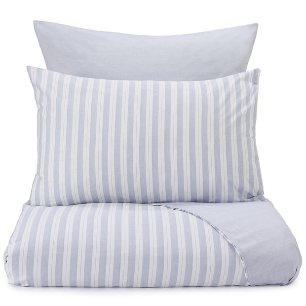 Izeda duvet cover, blue & white, 100% cotton