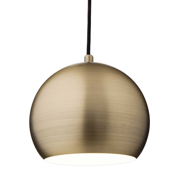 Koge pendant lamp, brass, 100% stainless steel |High quality homewares