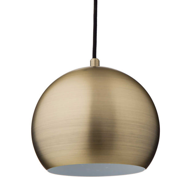 Koge pendant lamp, brass, 100% stainless steel