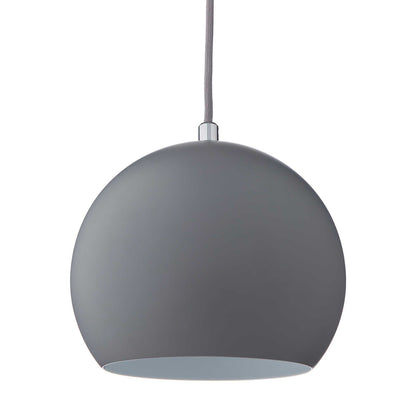 Koge pendant lamp, light grey, 100% stainless steel