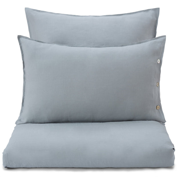 Bellvis pillowcase, green grey, 100% linen