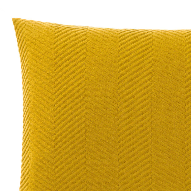 Lixa cushion cover, mustard, 100% cotton | URBANARA cushion covers