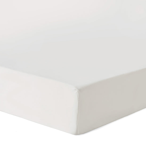 Lucca duvet cover, off-white, 100% silk |High quality homewares