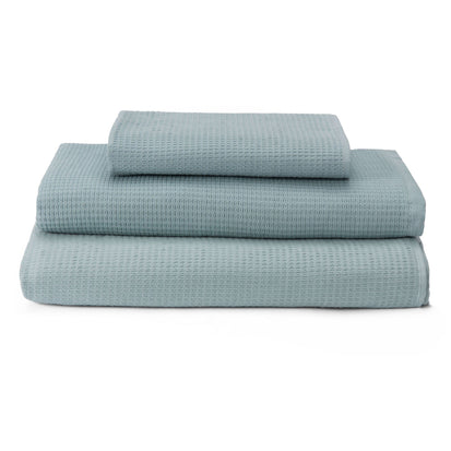 Sintra hand towel, light grey green, 100% cotton