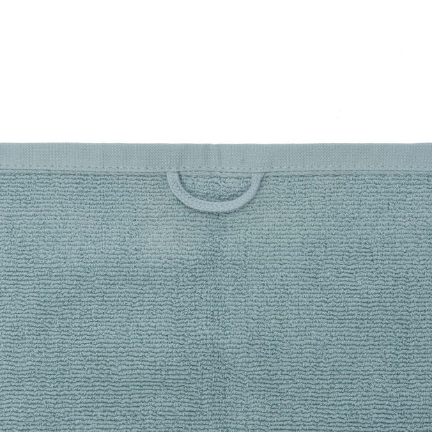 Sintra hand towel in light grey green, 100% cotton |Find the perfect cotton towels